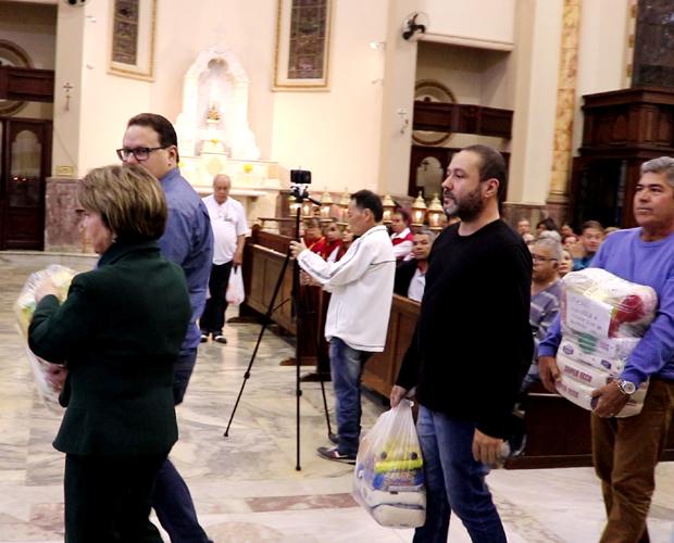 Representantes da FUVS participam da Novena do Bom Jesus