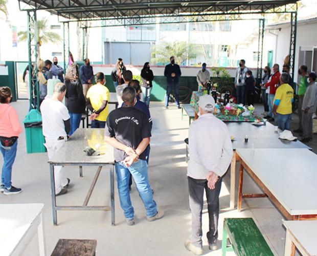 Funcionários da Unidade Fátima participam de confraternização no final do semestre