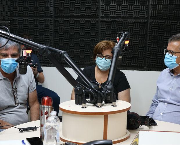 Prefeito, vice e secretária de Saúde de Pouso Alegre concedem entrevista na Rádio Univás