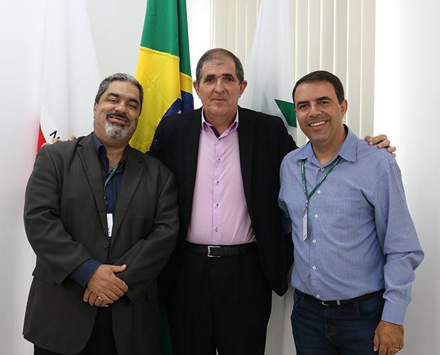 Conselho Diretor da FUVS recebe visita do vereador Rafael Aboláfio