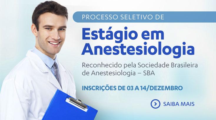 Estágio anestesiologia