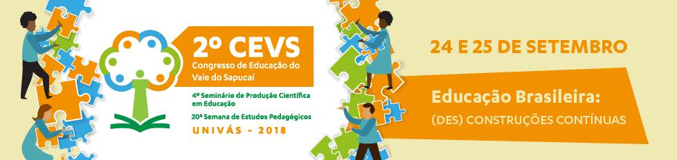 II CEVS   Congresso de Educação do Vale do Sapucaí