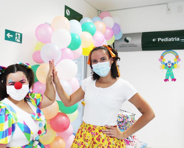 Festa da Criança do setor de Pediatria do HCSL é marcada de muita ternura e emoção